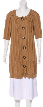 MICHAEL Michael Kors Casual Knit Cardigan