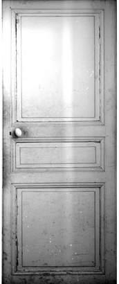 Maison Margiela Trompe-L'oeil Closed Door Sticker