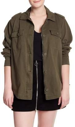 Levi's Lace Up Side Shirt Jacket (Plus Size)