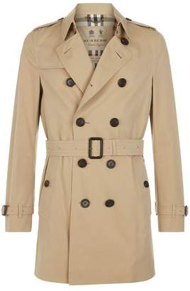 Burberry Chelsea Mid-Length Trench Coat