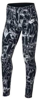 Nike Sportswear Girl's Club All Over Print Leggings