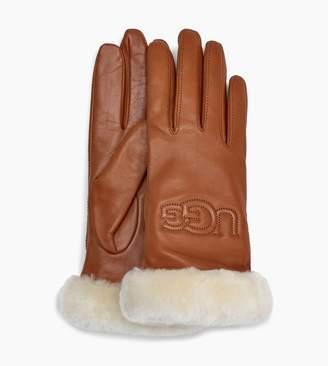 UGG Classic Leather Logo Glove
