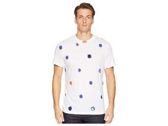 Paul Smith Reg Fit Short Sleeve All Over Tee