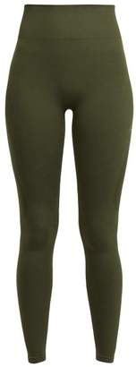 Calvin Klein Seamless Performance Leggings - Womens - Green