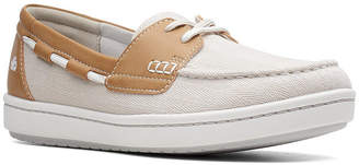 Clarks Women Cloudsteppers Step Glow Lite Boat Shoes Women Shoes