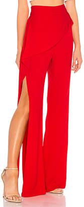 Michelle Mason x REVOLVE Side Drape Pant