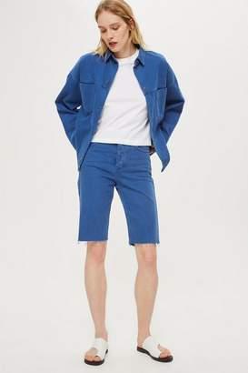 Boutique **denim board shorts