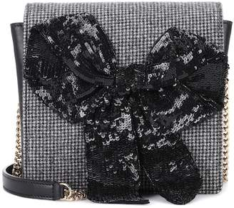 Rochas Exclusive to mytheresa.com – embellished leather shoulder bag