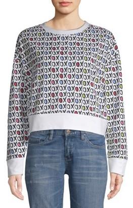 XOXO Juniors' Printed Logo Sweatshirt