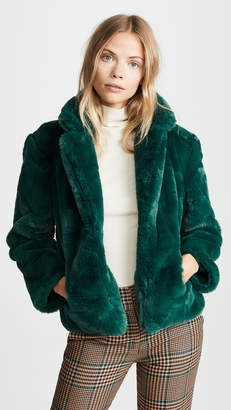 Keepsake Stay With Me Faux Fur Coat