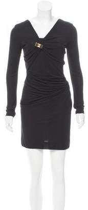Gucci Long Sleeve Bodycon Dress