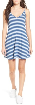 Women's Soprano Stripe Swing Dress $42 thestylecure.com