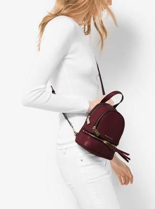 14e369d807dc ... cheapest free shipping at michael kors michael michael kors rhea mini  leather backpack a070f 25608