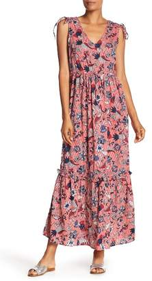 Joe Fresh Printed Maxi Dress