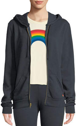 Aviator Nation Bolt Zip-Front Graphic Hoodie