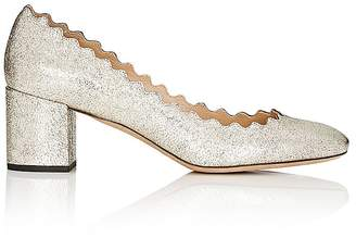 Chloé Women's Lauren Metallic Leather Pumps