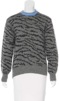 Toga Pulla Printed Wool-Blend Sweater