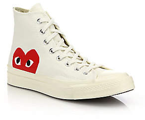 Comme des Garcons Women's Peek-A-Boo High Top Sneakers - Size 6 US Women's/ 4 US Men's