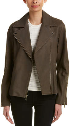T Tahari Leather Jacket