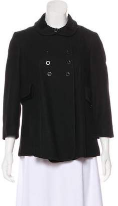 See by Chloe Wool Double-Breasted Coat