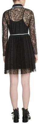 Maje Rabilo Lace Shirtdress