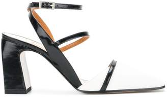 Ssheena square toe strappy sandals