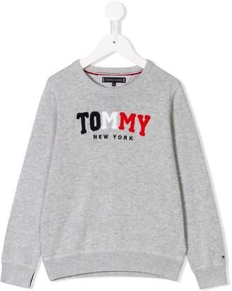 Tommy Hilfiger Junior logo patch sweatshirt