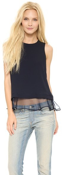 Elizabeth and James Sleeveless Tierney Top