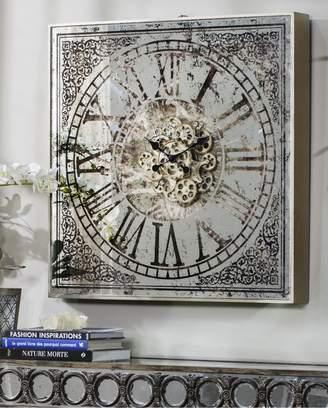 Phil Bee Interiors Square Mirror Wall Clock