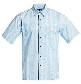 Saks Fifth Avenue Cotton Hawaiian Shirt