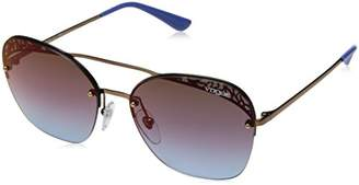 Vogue Women's 0vo4104s Non-Polarized Iridium Square Sunglasses