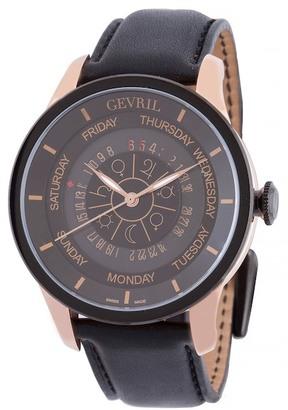Gevril Men's Columbus Circle Automatic Watch $4,490 thestylecure.com