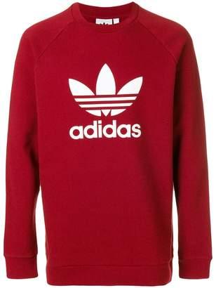 adidas Trefoil crew-neck sweatshirt