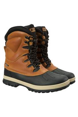Warehouse Mountain Arctic Mens Snow Boots - Warm Winter Footwear