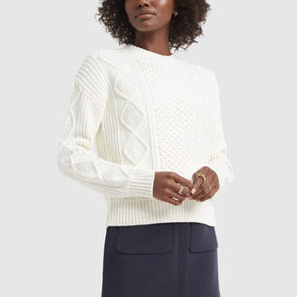 Banana Republic Cable-Knit Sweater - X-Small