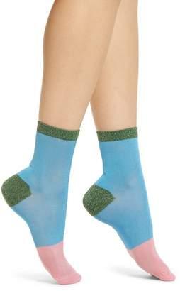Happy Socks Hysteria by Liza Sparkle Ankle Socks