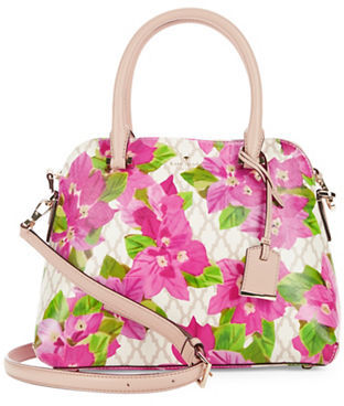 Kate Spade Kate Spade New York Riley Floral Leather Satchel