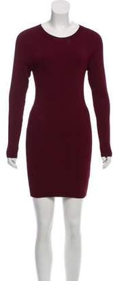 A.L.C. Rib Knit Mini Dress