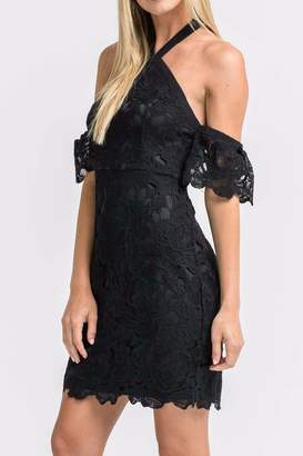 Lush Crochet Cocktail Dress