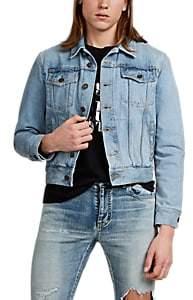 Saint Laurent Men's Denim Trucker Jacket - Lt. Blue