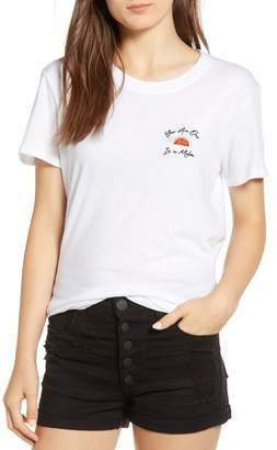 One in a Melon Embroidered Slouched Tee