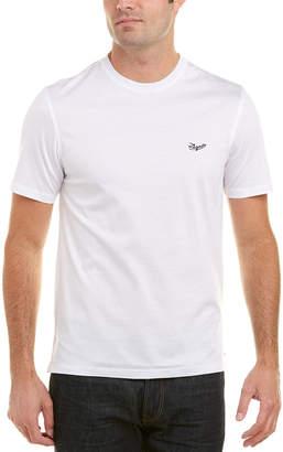 Ermenegildo Zegna Contrast Logo T-Shirt