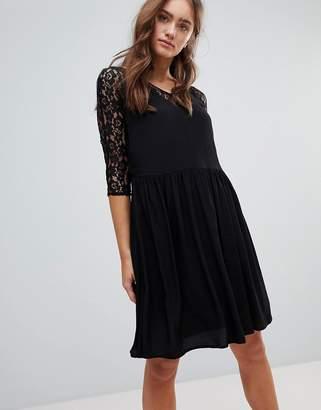 Pepe Jeans Lace A-Line Midi Dress