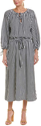 MDS Stripes Garden Maxi Dress