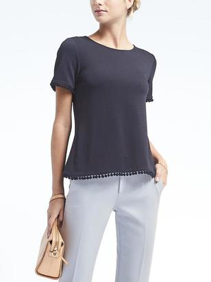 Pom Pom Crossback Top $54 thestylecure.com