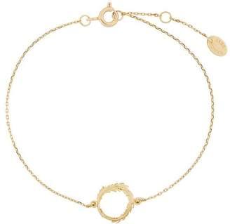 Alex Monroe Plume loop bracelet