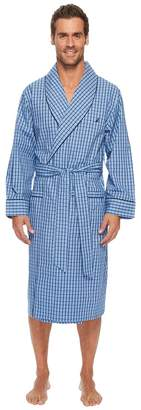 Nautica Plaid Lounge Robe Men's Robe
