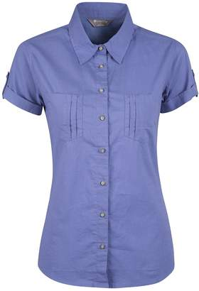 Warehouse Mountain Coconut Womens Shirt -100% Cotton Ladies Summer Top