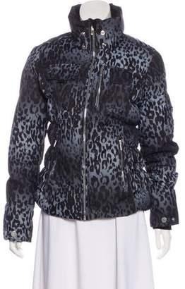 Obermeyer Animal-Print Puffer Jacket