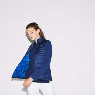 Lacoste Women's SPORT Quilted Technical Golf Jacket